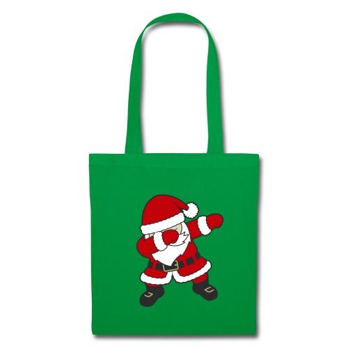 Dab Dabbing Trend Santa Claus Weihnachtsmann Logo - Stoffbeutel