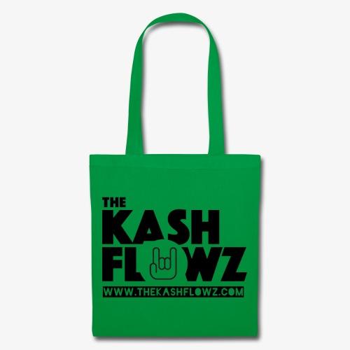 The Kash Flowz Official Web Site Black - Tote Bag