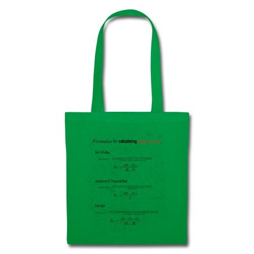 Formulas for calculating steps-per-mm. - Tote Bag