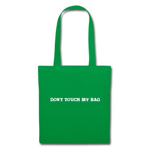 Don't touch my bag tygpåse - Tygväska