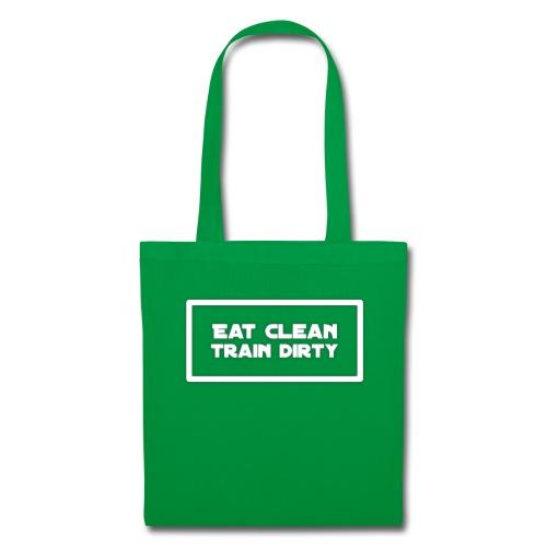 eat clean - Stoffbeutel
