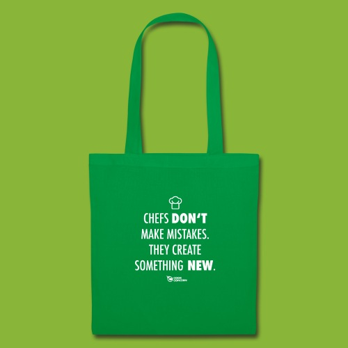 Chefs don't make mistakes - Tote Bag