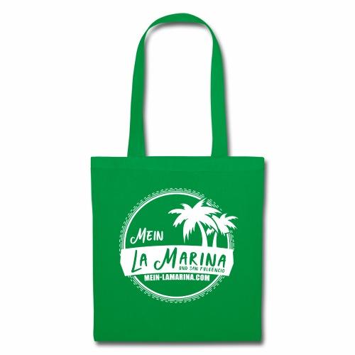 Mein La Marina und San Fulgencio / weiss - Stoffbeutel