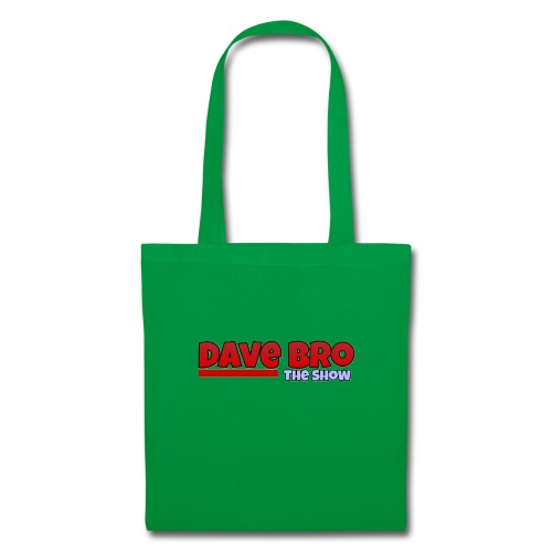 Dave Bro Logo - Stoffbeutel