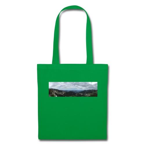 Alpenaussicht - Stoffbeutel