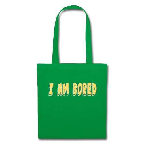 I AM BORED T-SHIRT - Tote Bag