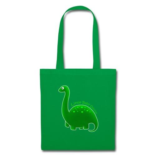 Green Little Baby Saurus - Tote Bag