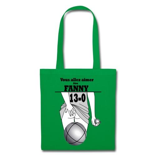 pétanque fanny fond clair - Tote Bag