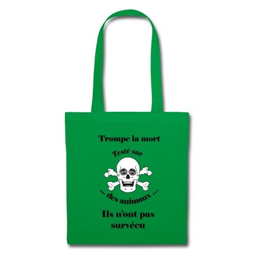 Trompe la mort «rieur» Test animal FC - Tote Bag