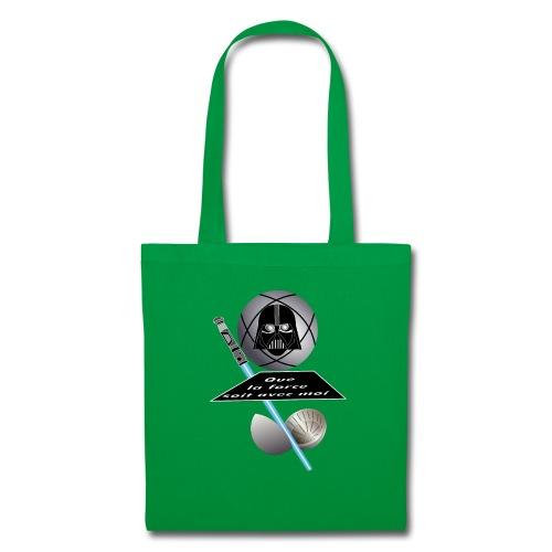 petanque star war force avec moi boule dark vador - Tote Bag