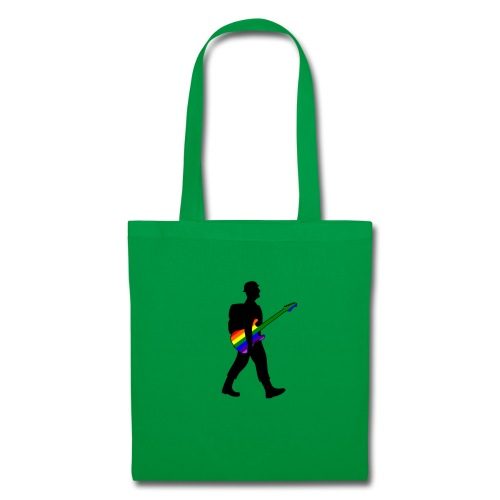 Soldier with a pride guitar - Tote Bag