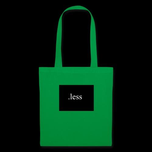 .less clothes - Stoffbeutel