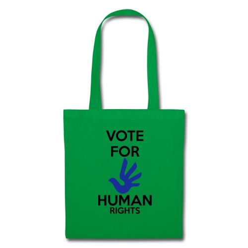 Vote for Human Rights - Tas van stof