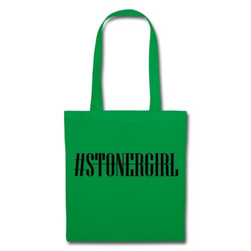 Cannabis Rausch - #Stonergirl - Stoffbeutel