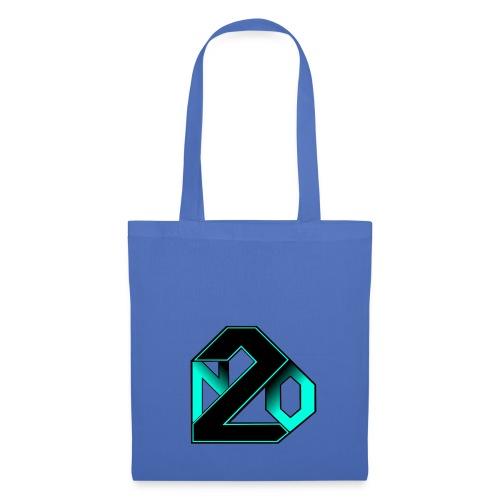 N2O turquoise - Sac en tissu