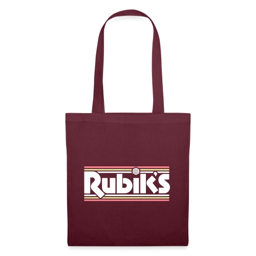 Rubik's Cube Retro Logo - Tote Bag