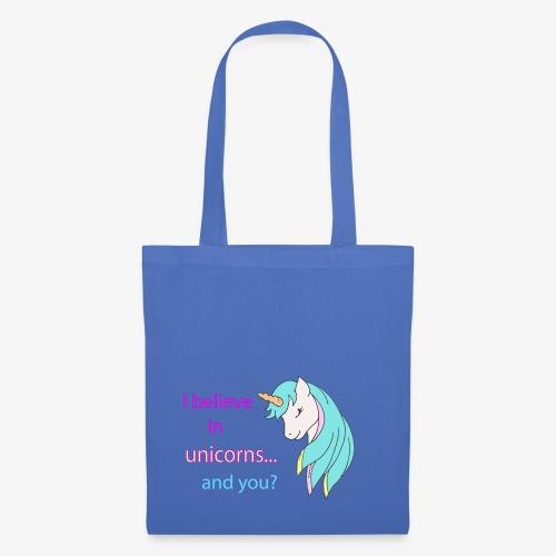 i believe in unicorns - Tote Bag