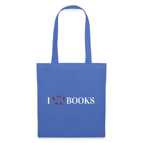 I love Books - Stoffbeutel