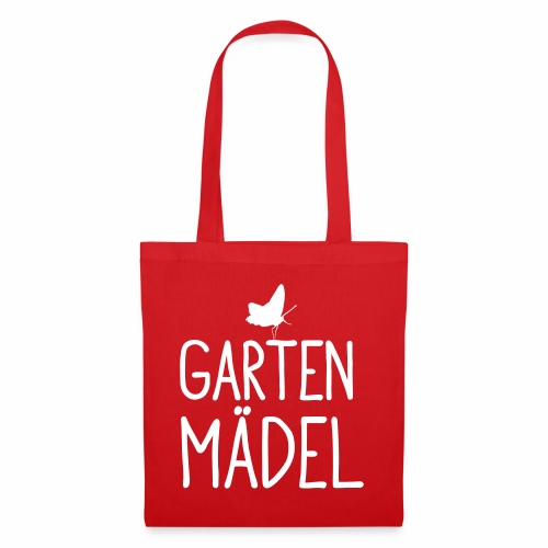 Gartenmädel - Stoffbeutel