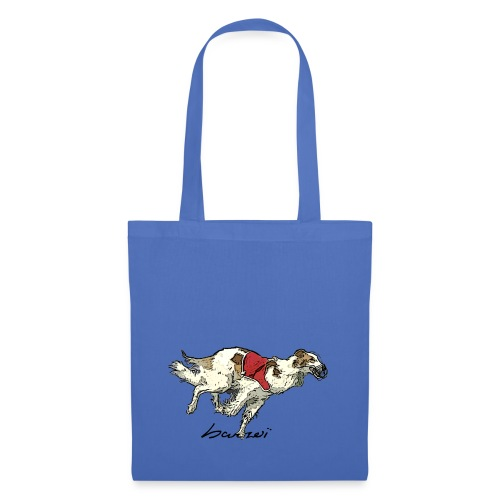 Barzoi coursing - Tote Bag