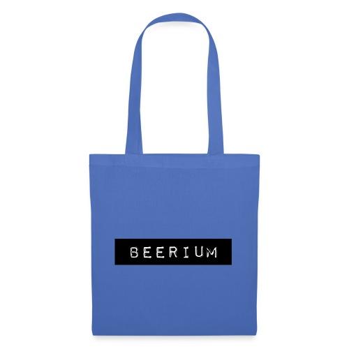 BEERIUM logo svart - Tygväska