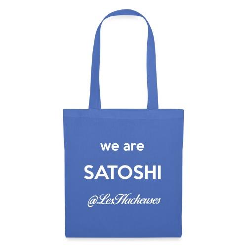 we are satoshi - Tote Bag