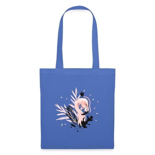 Queen of flamingos - Borsa di stoffa