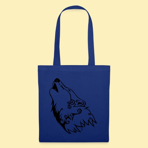 Le Loup de Neved (version traits) - Tote Bag