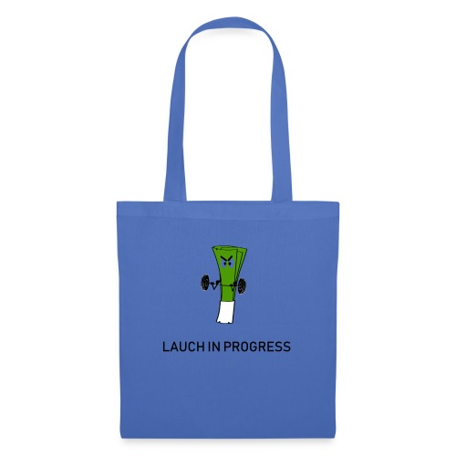 Lauch in Progress T-Shirt Design - Stoffbeutel