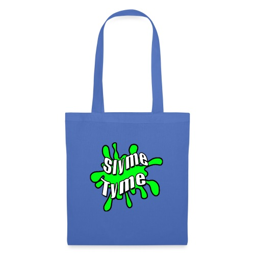 Slyme Tyme Logo / White To Green - Tote Bag