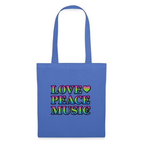 Love Peace Music - Tote Bag
