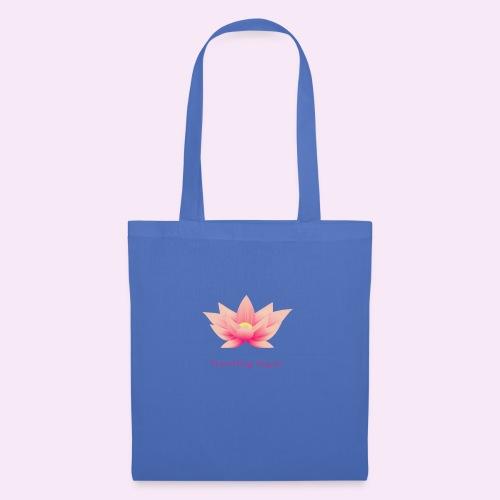 Travelling Yogini Logo - Tote Bag