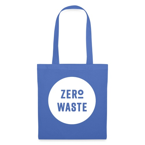 ZERO WASTE - white - Tote Bag