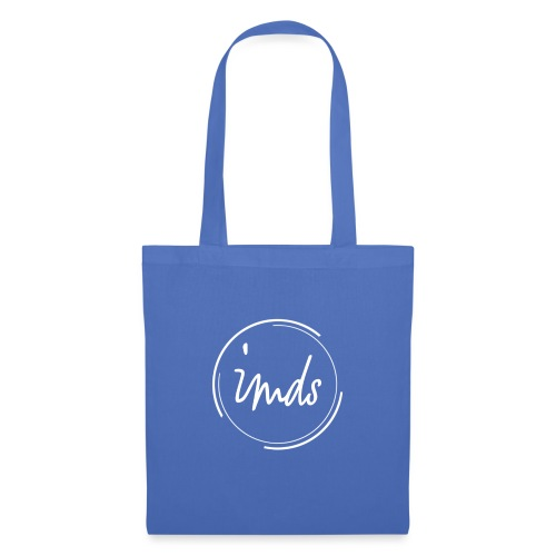 logo signature blanc - Tote Bag