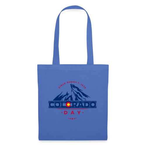 Colorado Day 2018 state flag mountain T shirt - Tote Bag