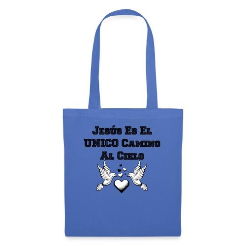 Jesus Unico camino al cielo - Bolsa de tela