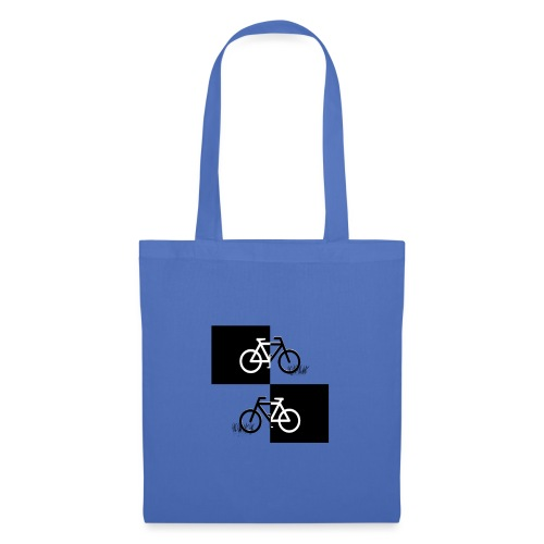 Ich liebe mein Fahrrad T-Shirt für Biker - Stoffbeutel