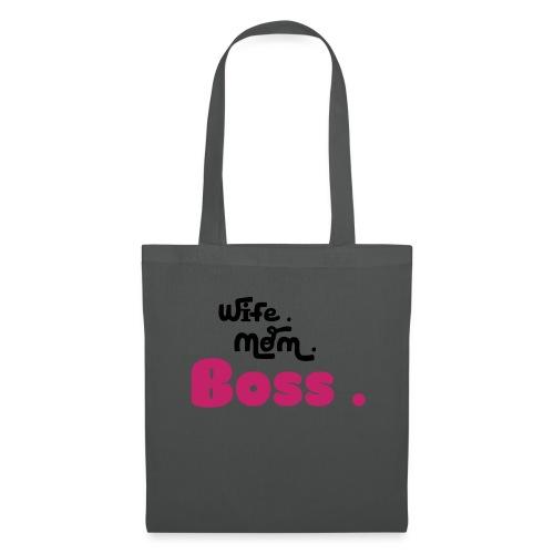 Ehefrau Mutter Boss - Stoffbeutel