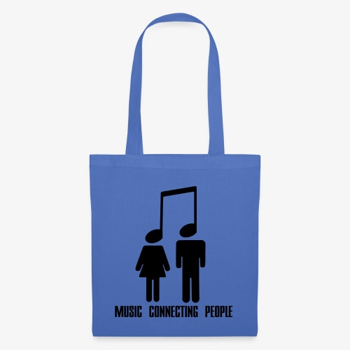 Music Connecting People - Stoffbeutel