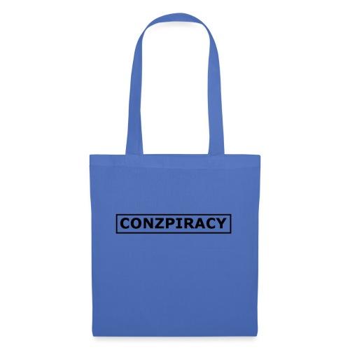 CONZPIRACY wording - Tote Bag