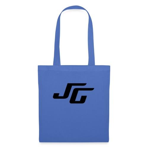 JG Logo schwarz - Stoffbeutel