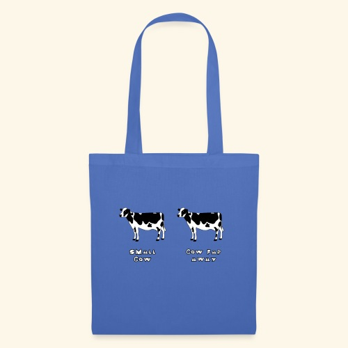 Small or far away cow? - Tote Bag