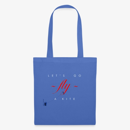 Let's go fly a kite with characters - Tote Bag