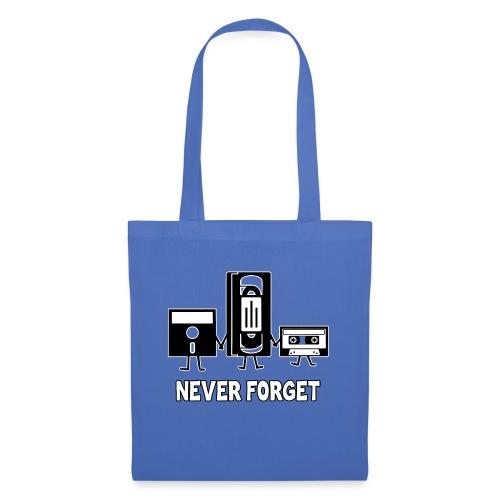 Never Forget - Stoffbeutel