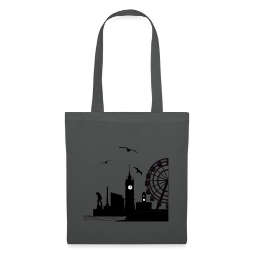 Silhouette of Margate - Tote Bag
