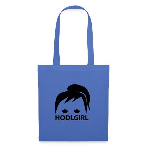 HODLGIRL - Borsa di stoffa