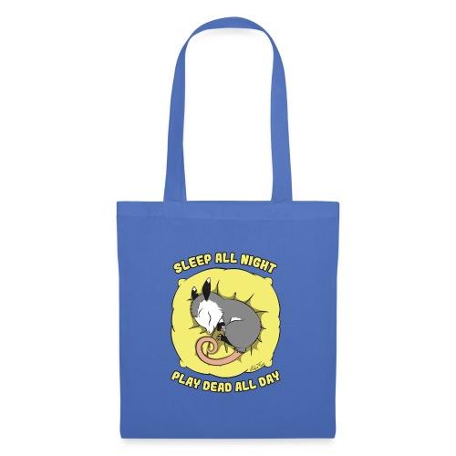 Vita da Opossum giallo - Borsa di stoffa
