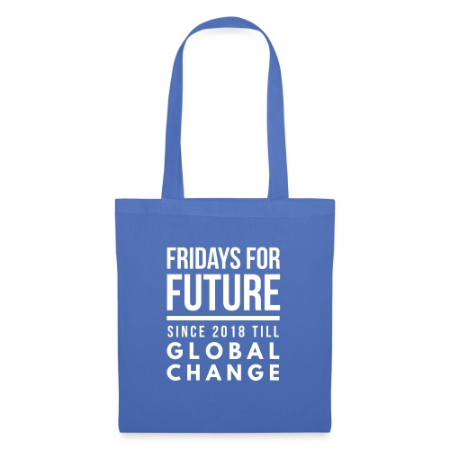 Fridays for Future till GlobalChange RescueTheBlue - Stoffbeutel