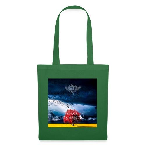 Black Confetti Promo Design - Tote Bag