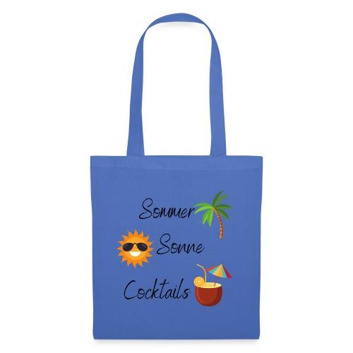 Sommer Sonne Cocktails - Stoffbeutel